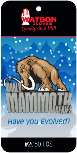 2050 Mammoth Wool Series Tag Display1