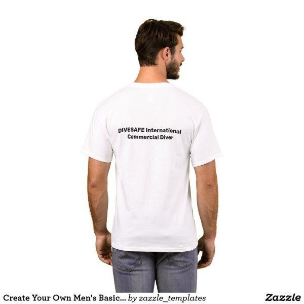 T shirt white back