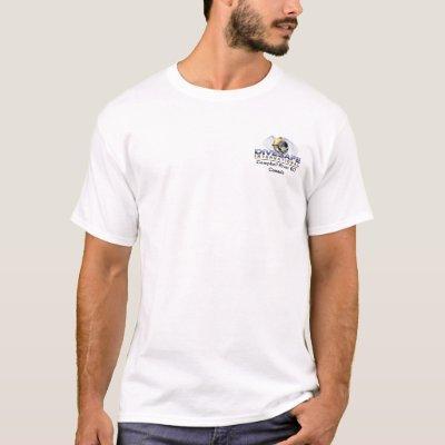 T shirt white front w logo