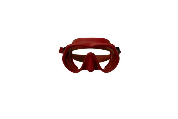 A121180XX 1 OMS Tattoo Mask INDIAN Red asian Ultra clear