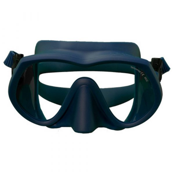 oms tatto western ultra clear diving mask